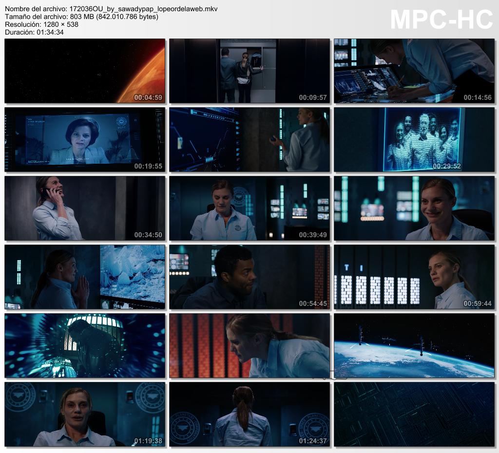 Origin Unknown [2017] [BBRip 720p] [Subtitulada]