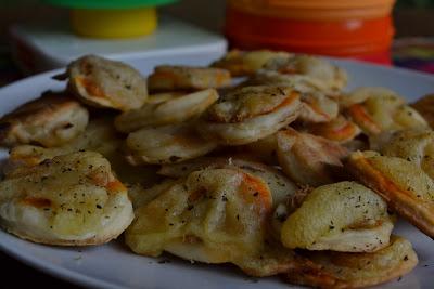 Pizzinha de Padaria (vegana)