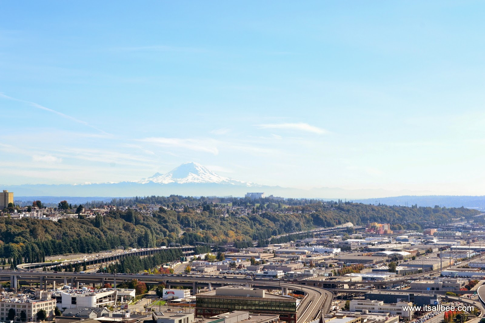 Mount Rainier Views From Smith Tower