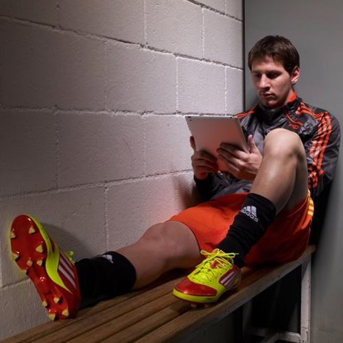 nuevas botas inteligentes de Messi adizero f50 miCoach de Adidas