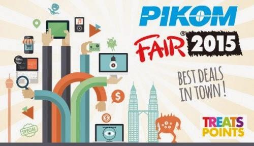 Pameran PC Fair 27 Februari 1 Mac 2015 di Kuala Lumpur Convention Centre KLCC