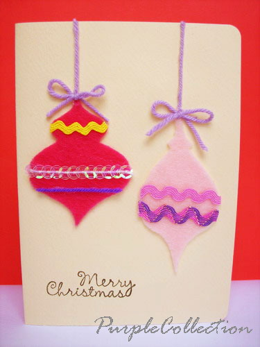 The Ornaments Card, ornaments