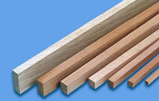 Καδρονάκια από σουηδικό ξύλο άραζο