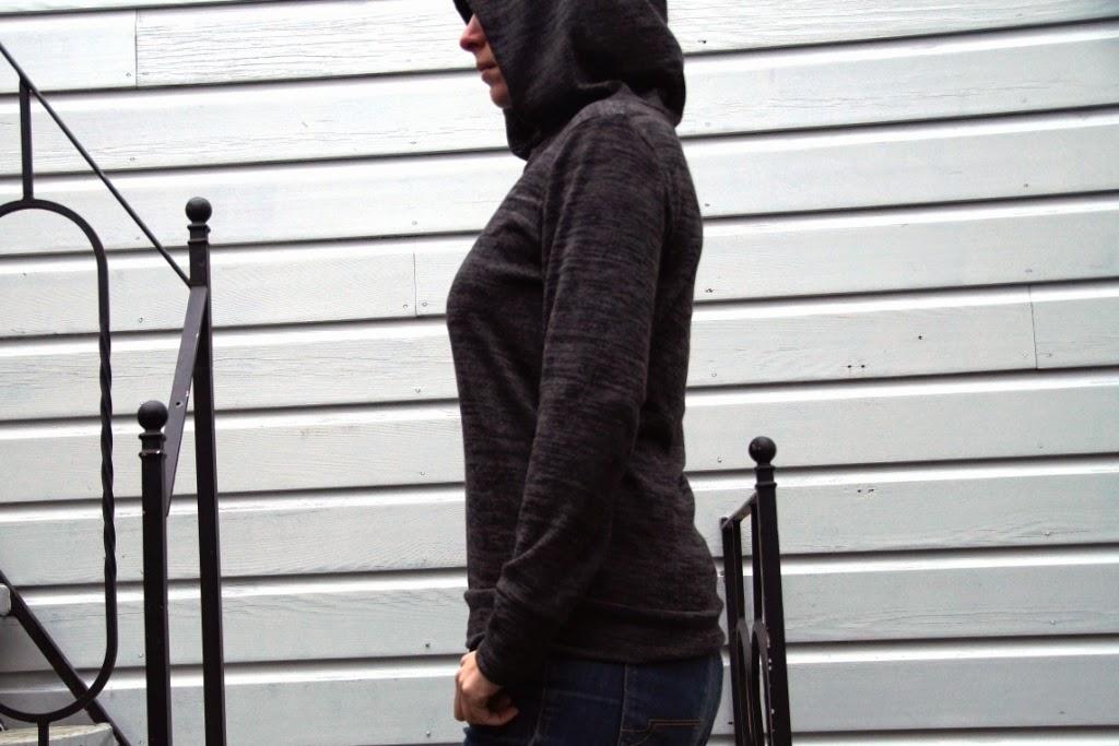 Omni Tempore hoodie (pattern by Sofilantjes) - huisje boompje boefjes