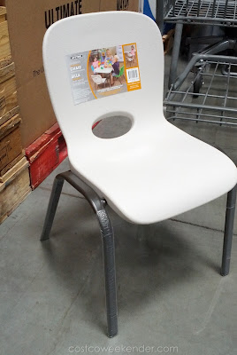 Lifetime Children's Stacking Chair in off white color