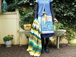 Chevron Granny Blanket...