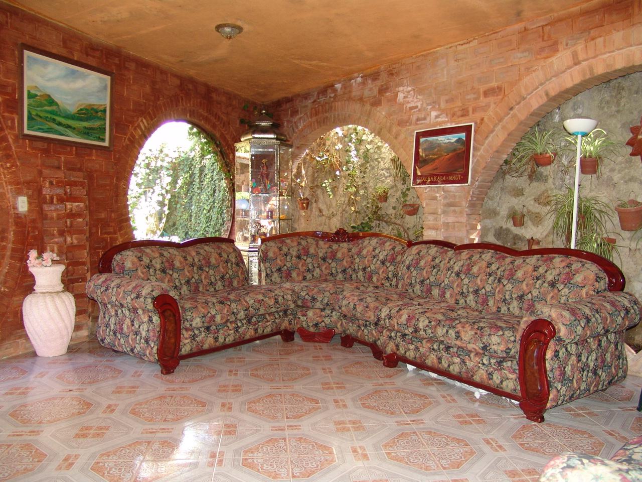 decoracion de interiores rustica mexicana:Centro de Retiros Serlingpa. Vacaciones para el Alma.