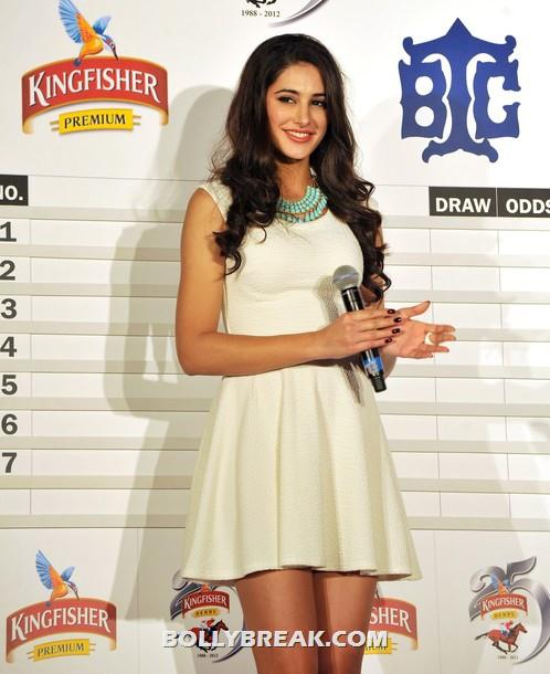Nargis Fakhri at kingfisher derby event - (5) -  Hot Nargis Fakhri at the Kingfisher pre-derby event