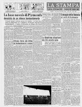 LA STAMPA 29 NOVEMBRE 1940