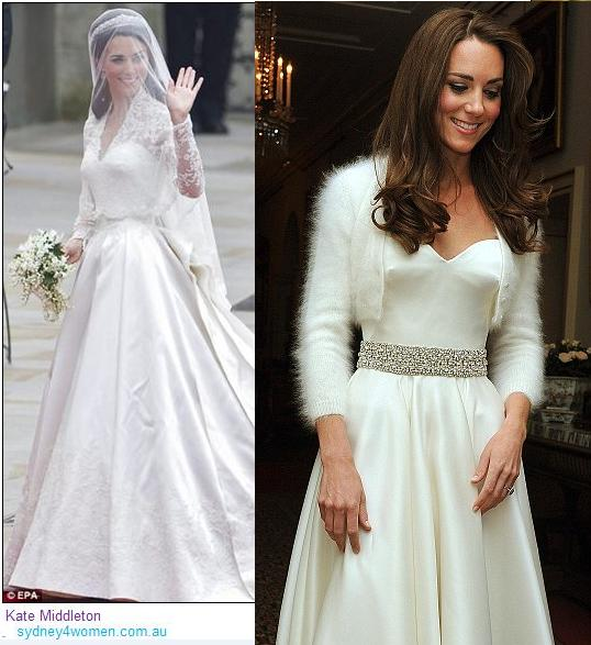 Style stealer kate middleton kate middleton wedding for Wedding reception party dress