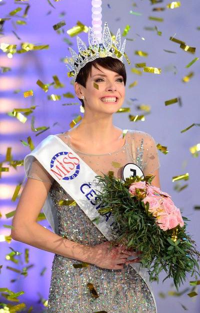 Ceska Miss Czech Republic 2013 winner Gabriela Kratochvilova