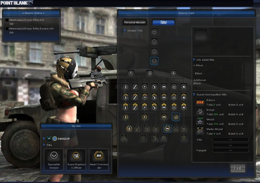 Cheat Bug dalam Point Blank