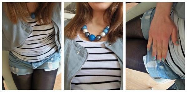 30 Kleidungsstücke für 30 Tage ergeben 30 verschiedene Outfits Tag 11