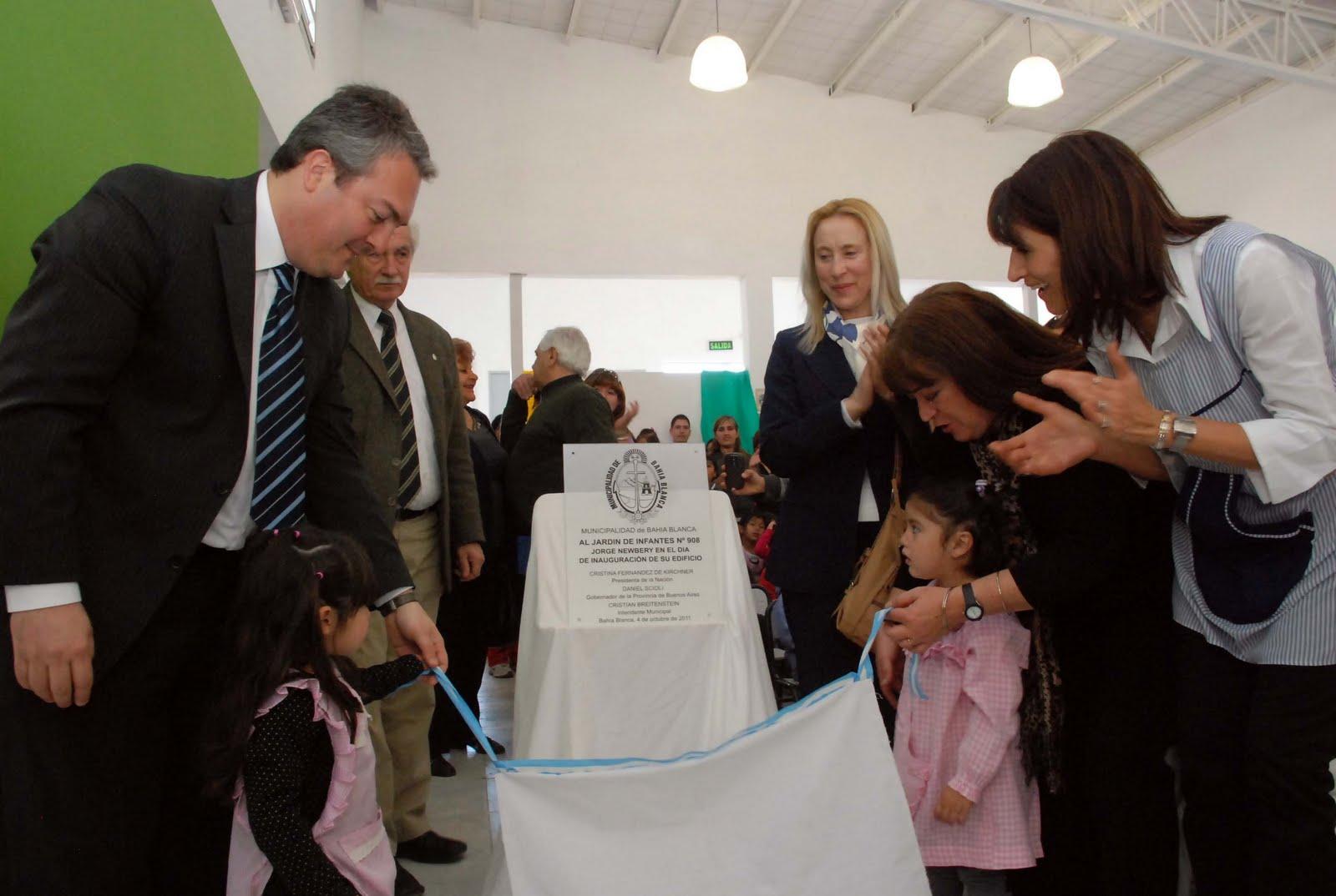 Y se inaugur otro nuevo jard n de infantes bah a blanca for Jardin 901 bahia blanca