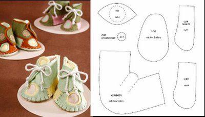 Обувь для куколки своими руками