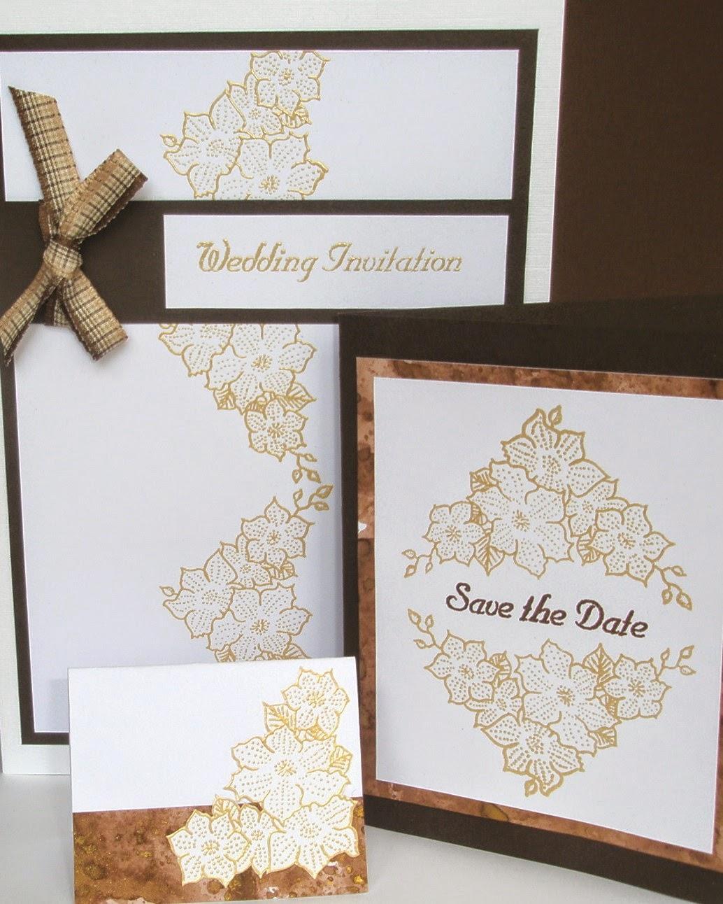 Oak House Studio: Make your own Wedding Invitations using the ...