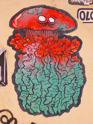 bunte Atomwurzelaugenkrake