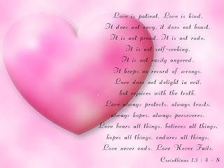 Love Is Patient HD Love Wallpaper