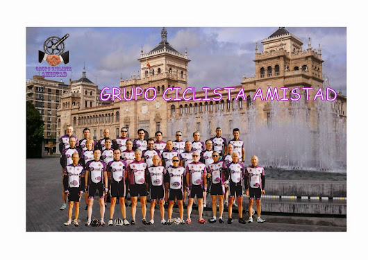Miembros del Grupo Ciclista Amistad