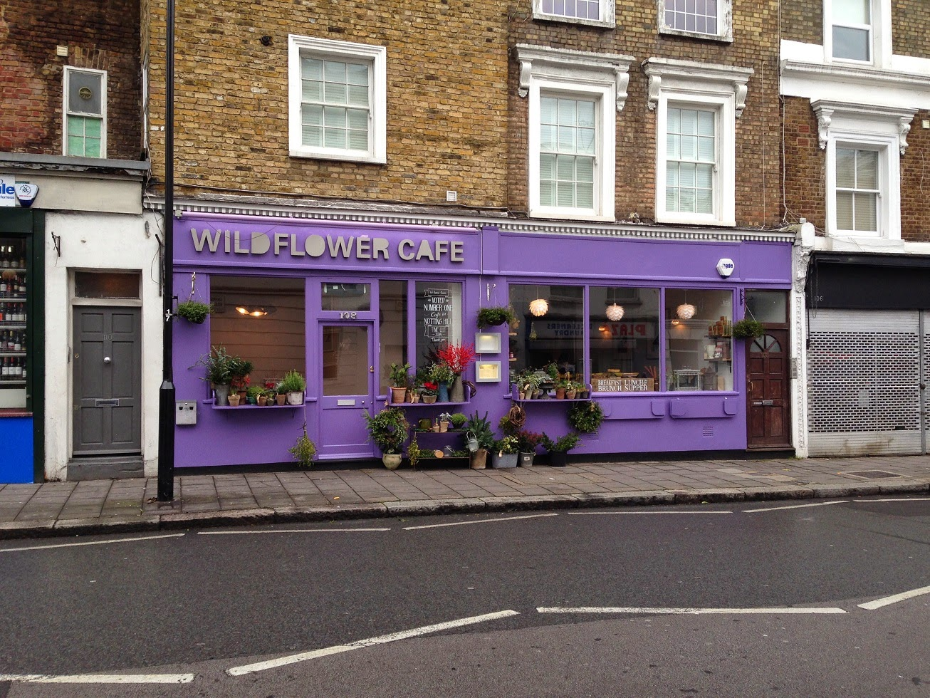 Wildflower Café, Chepstow Road, London W2
