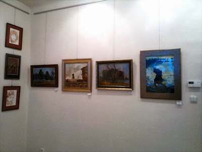 Exhibition of galerie idea paintings of Gregory Avoyan