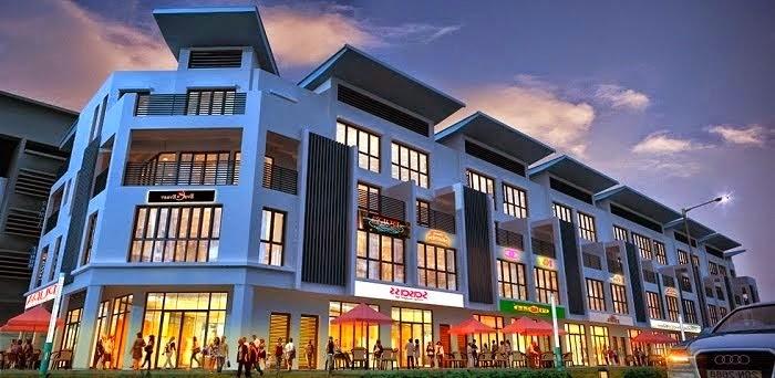 Trung tâm mua sắm tại Gamuda Gardens