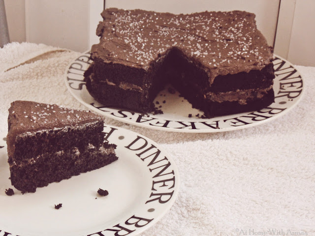 carob fudge cake recipe | Halal Home Cooking