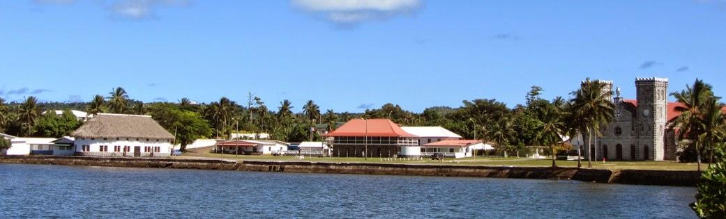 Die Skyline von Mata Utu