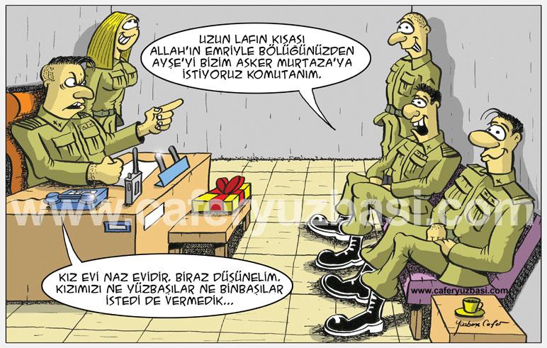 kiz isteme-Kadinlar Asker Olursa?