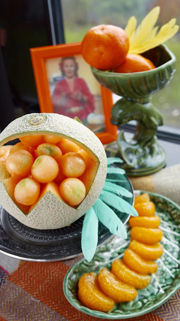 Fanny Cradock Melon Baskets