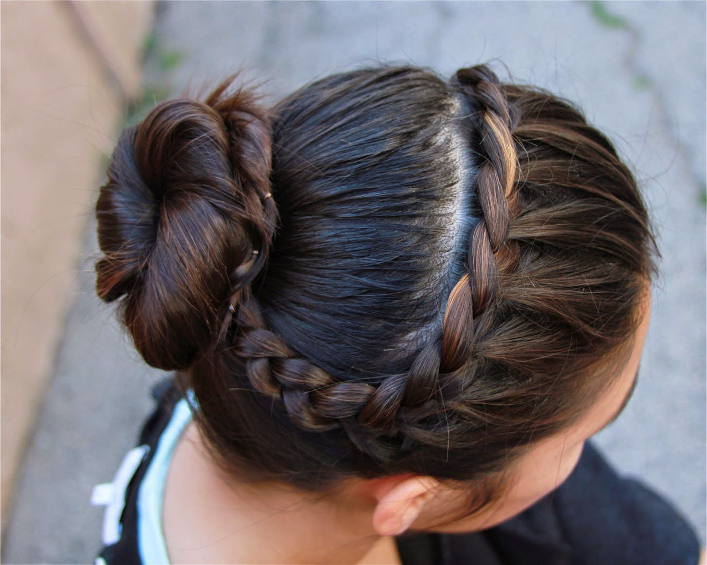 Easy Buns And Braided Hairstyles Easy Buns And Braided Hairstyles Unveiled  Fashion How To Make Two