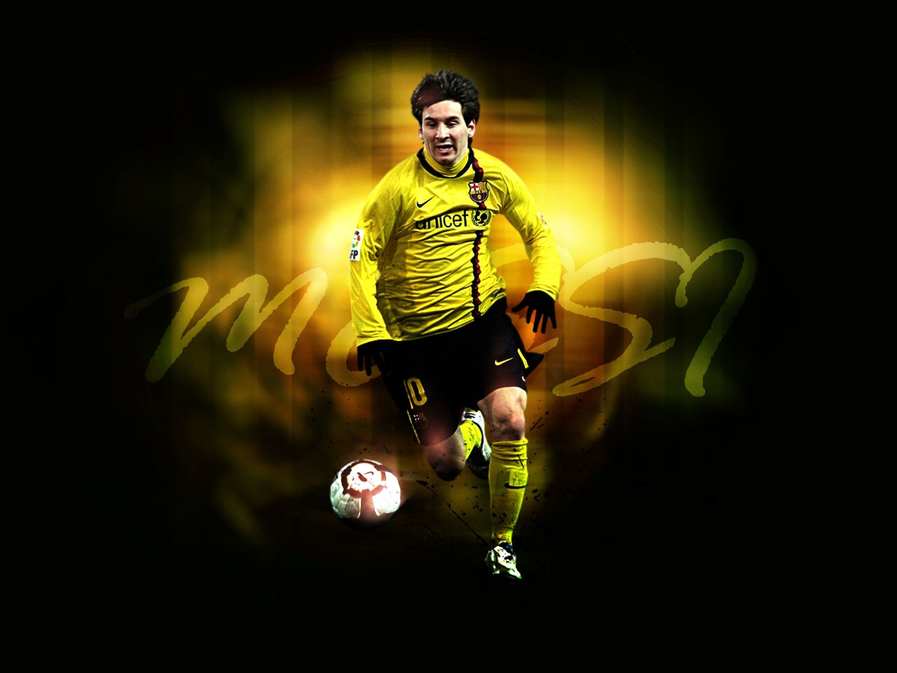 Football Super Star Player: Lionel Messi New HD Wallpapers 2013