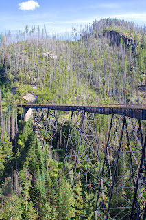 Myra Canyon Trestles - Kettle Valley