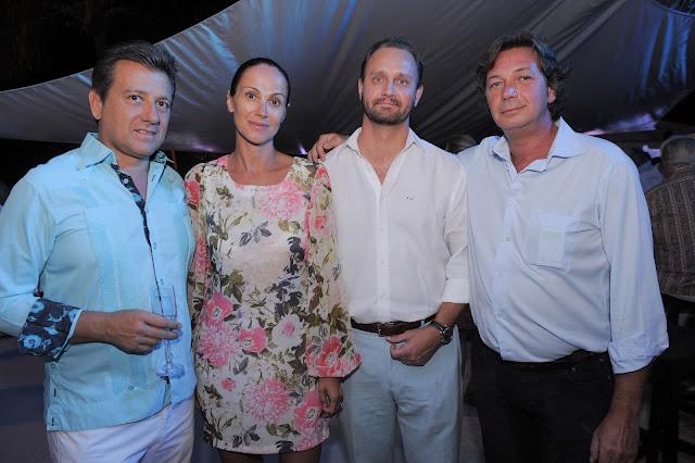 Herbert Shoudeubock, Gabrielle Gallera, Victor Kelin and Marcus Laahanen.