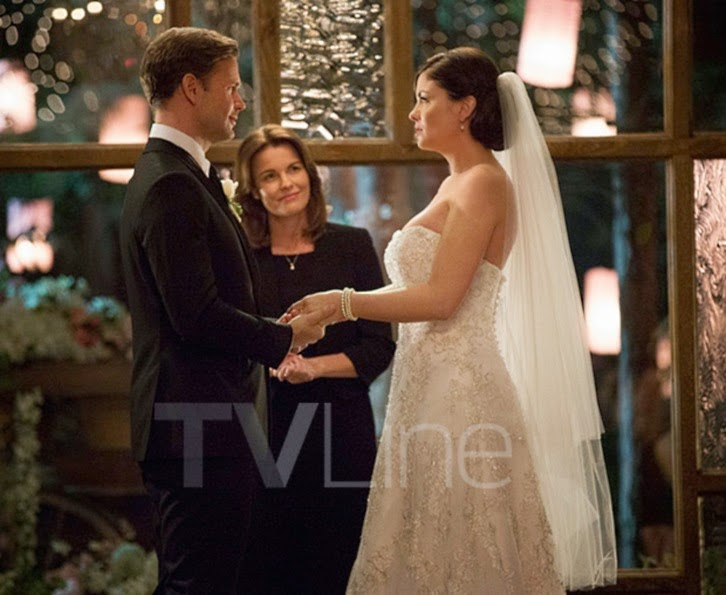 The Vampire Diaries - Episode 6.21 - I'll Wed You in the Golden Summertime - First Look at Jo and Alaric's Wedding