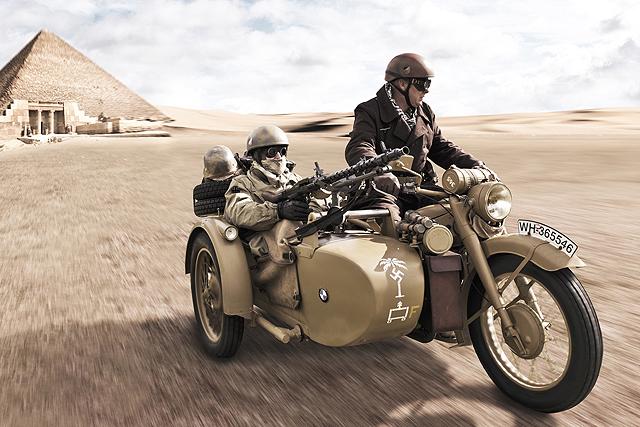 Montblog 1942 Ww2 R75 Bmw With Sidecar
