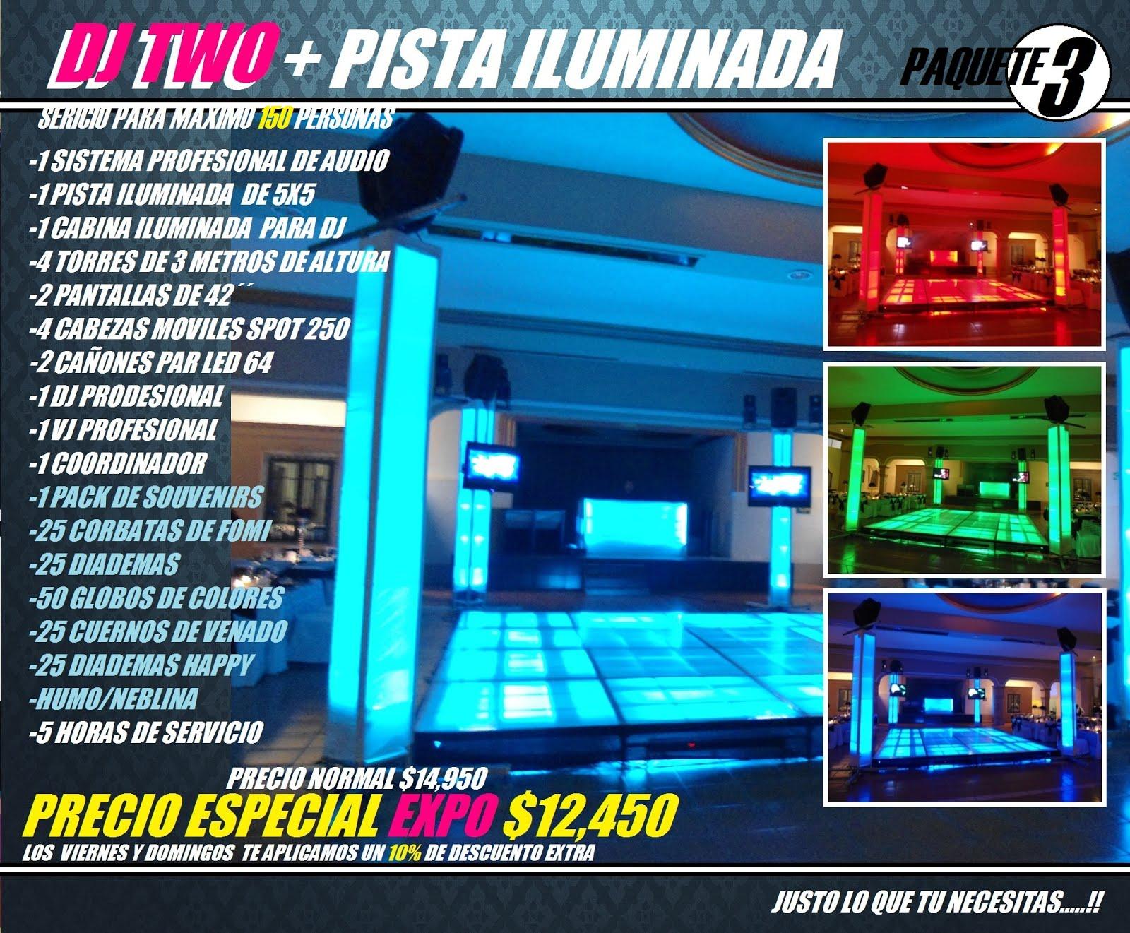 ECOMNOPACK 3 MAS PISTA DJ TWO LADO B