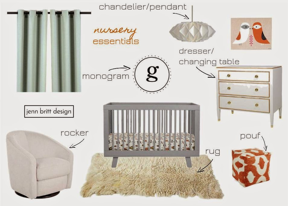 Nursery Essential List
