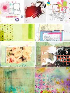 Предметно-абстрактные фоны с текстурами