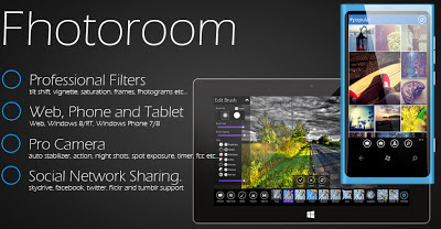 Fhotoroom Windows 8 Image Editor