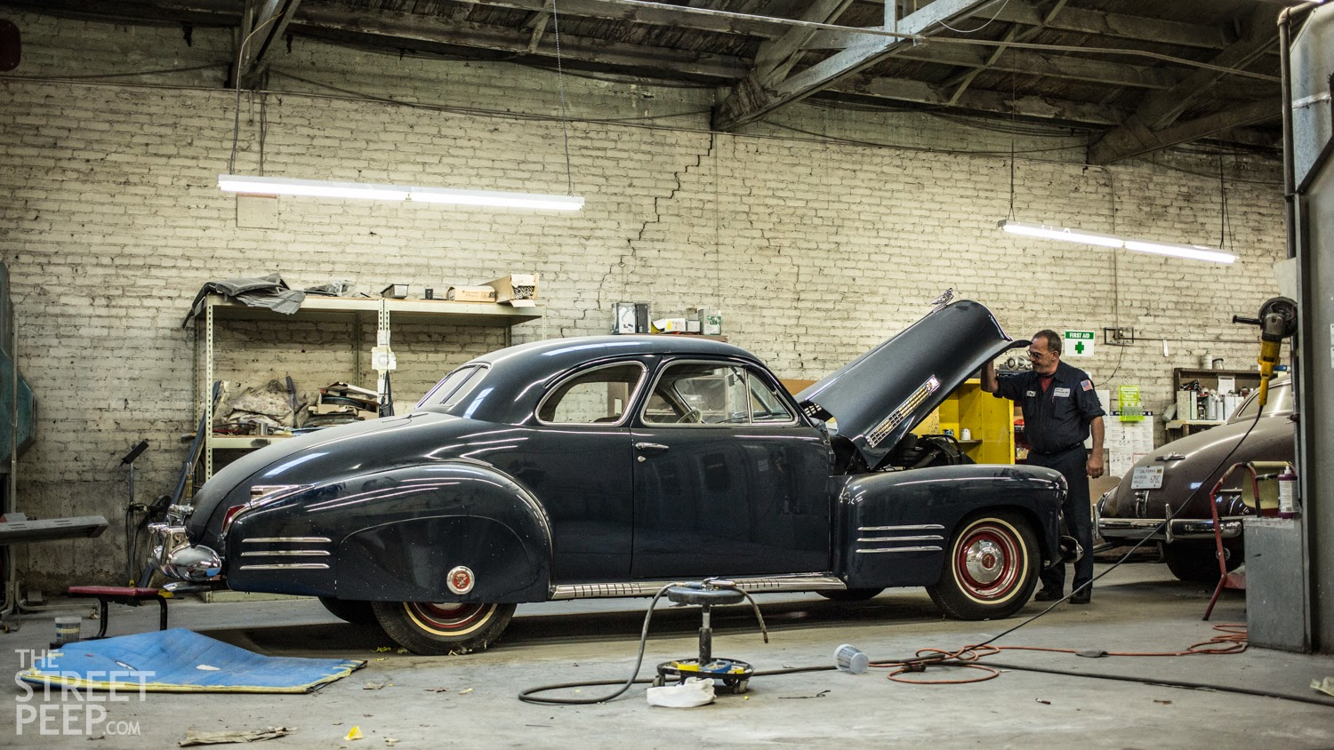 The Street Peep 1941 Cadillac Type 62 Coupe Plymouth Chopped