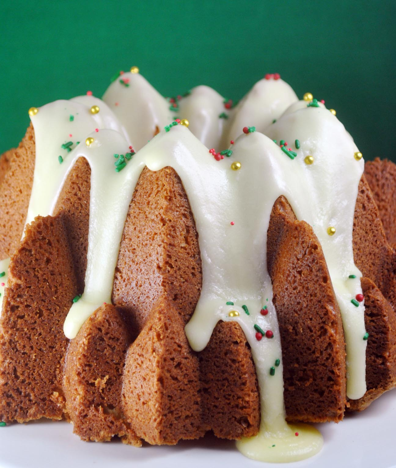Lemon Glazed Vanilla Bean Cream Cheese Pound Cake with ...