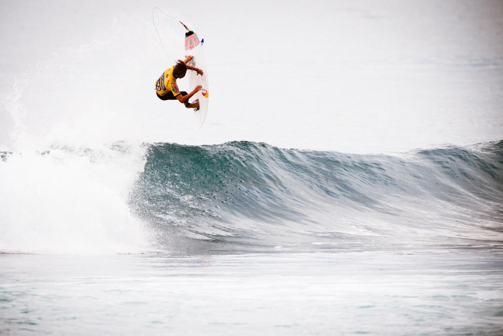 8 Evan Geiselman USA 2015 SATA Azores Pro Foto WSL Laurent Masurel
