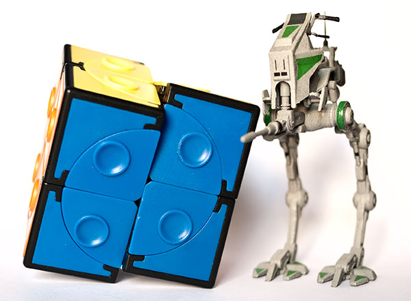 Rubiks cube 2x2x2  Crazy at-st star wars