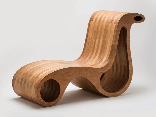 ... Kursi » Model Desain Kursi Kayu Unik yang Minimalis Untuk Ruang Tamu