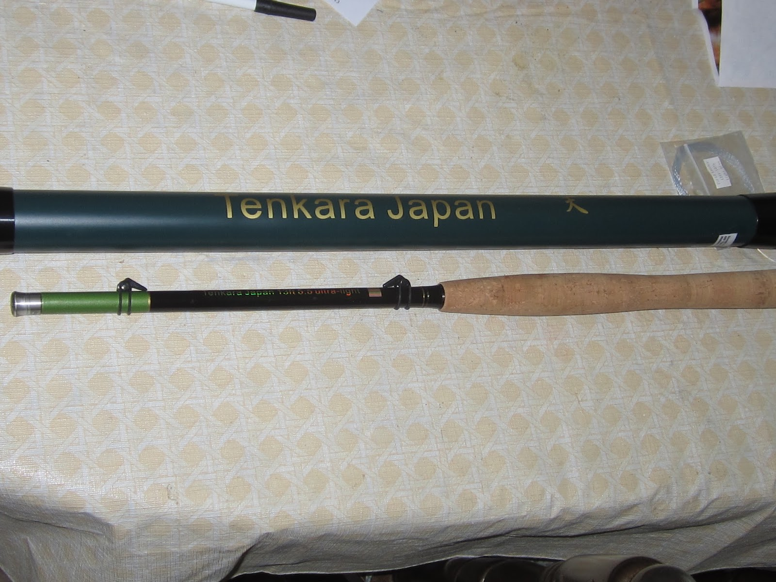 The retired professor and now fisherman japanese fly for Tenkara fishing rods
