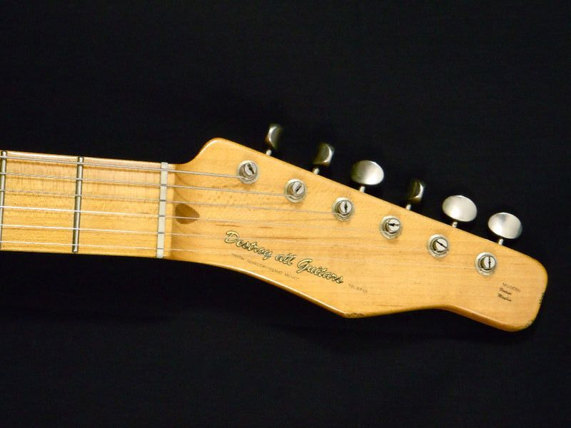 Built for Destroy All Guitars a boutique/art guitar dealer they call this Strat-Tele hybrid a Telestar. & Chad Underwood DAG Telestar - Friday Strat #230 ~ Stratocaster ...