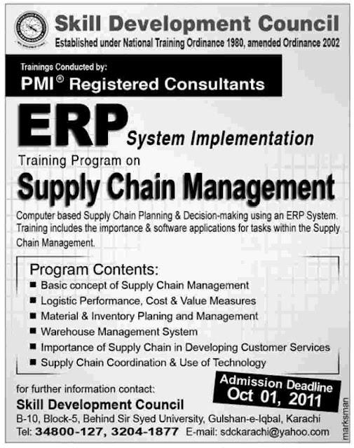 admission in pakistan erp system implementation training. Black Bedroom Furniture Sets. Home Design Ideas