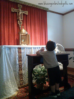 living your faith with your children in the home