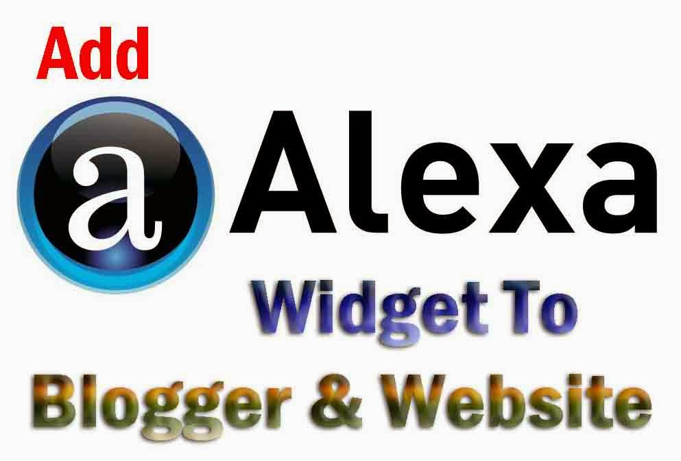 How to Install Alexa Widget to Blog and Websites